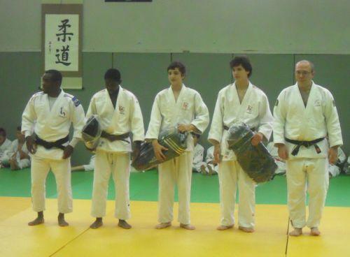 Vang-Si , Yanis et Antoine sont récompensés pour leurs excellents résultats 2010/2011