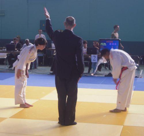 Une victoire dont je suis tres fier. Ma premiere contre le triple champion des Hts de Seine , mon ami Lahiru de l'ACBB