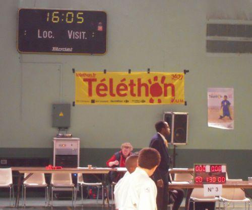 Le Téléthon avait lieu cette année à Villeneuve-La-Garenne. Le résultat a beaucoup moins d'importance que le fait , pour nous , de participer à cette belle oeuvre .