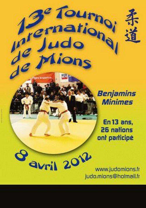 Mions est le plus prestigieux tournoi international réservé aux benjamins et aux minimes. Rien que le fait d'y participer est un honneur.