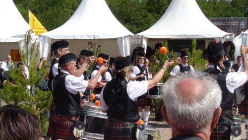 Askol Ha Brug Pipe Band aux GAME FAIR de Chambord