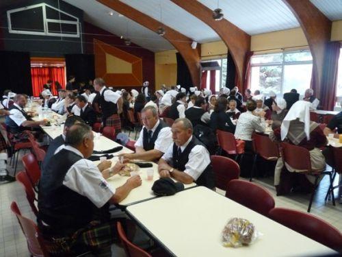 Déjeuner pour tous les groupes