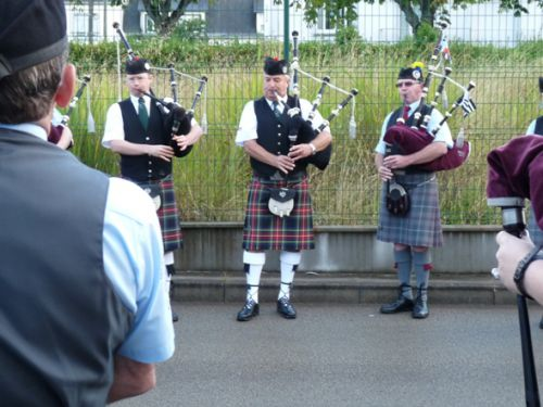 Isle Of Cumbrae Pipe Band au Festival Interceltique de Lorient