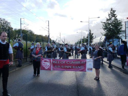 Isle Of Cumbrae Pipe Band au Festival Interceltique de Lorient