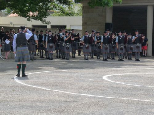 Pipe Band competition (Isle Of Cumbrae Pipe Band)