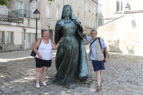 Sylvie, Bernard et la Duchesse Anne de Bretagne