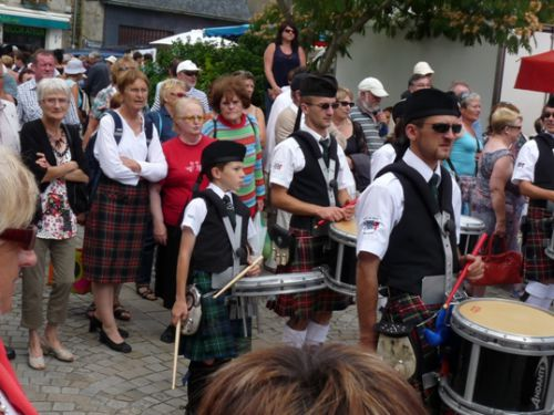 Liam with Askol Ha Brug Pipe Band