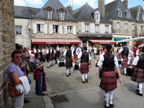 Askol Ha Brug Pipe Band at Guemene-Sur-Scorff
