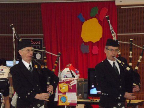 Maitre Daniel P. et Roland LR au Téléthon de Sautron