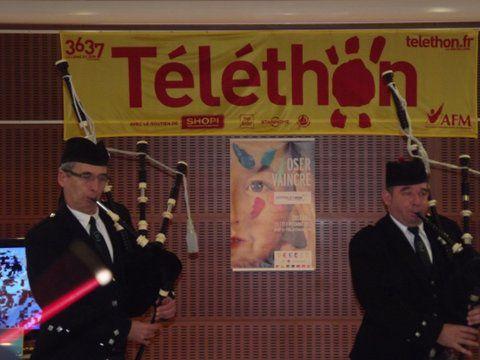 Roland LR et Gérald A. au Téléthon de Sautron