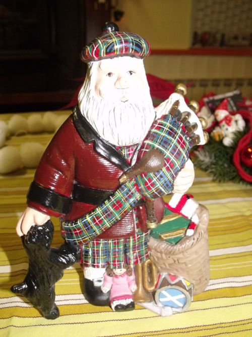 Le père Noël en Black Stewart - Santa Claus in Black Stewart