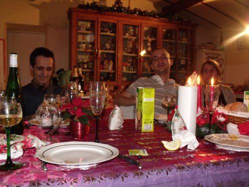 Reun (in kilt of course), Susu et Noëmie