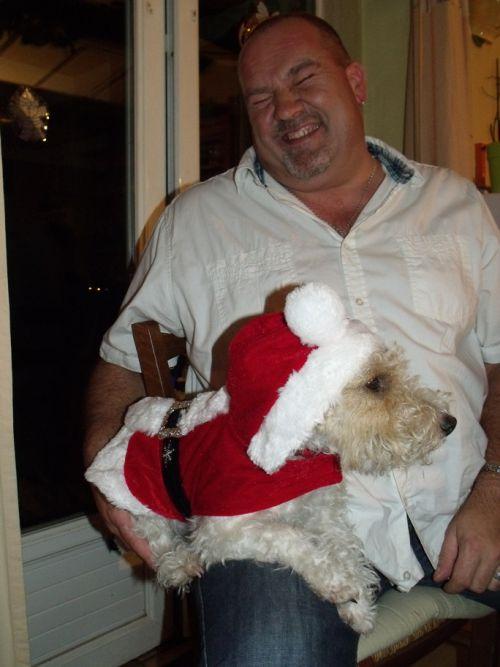 Galice en tenue de Père Noël - Galice in Santa Claus Dress