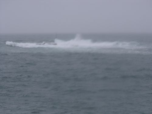 La mer à la pointe de Pors Goret à Lampaul-Plouarzel