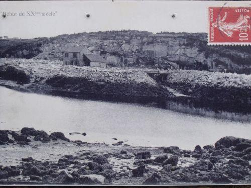 Carrière de Kerglonou en Plouarzel