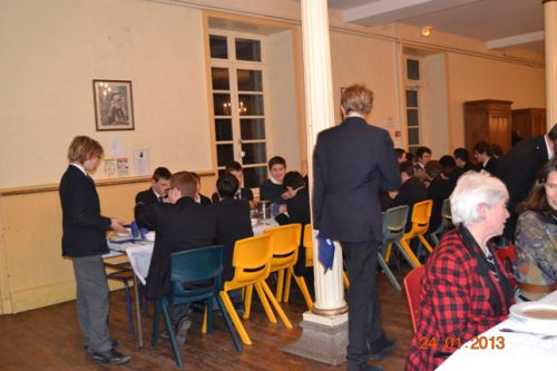 Table of students