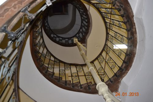 The staircases