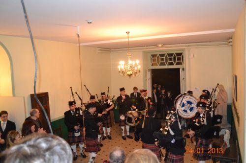Askol Ha Brug Pipe Band at Chavagne International College