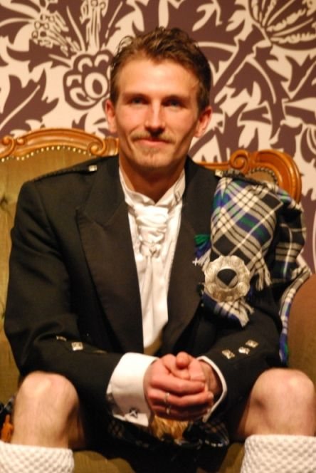 Stephen Mac GORIAU (Bailli de la Sénéchaussée Bretonne de la Kilt Sociéty France)