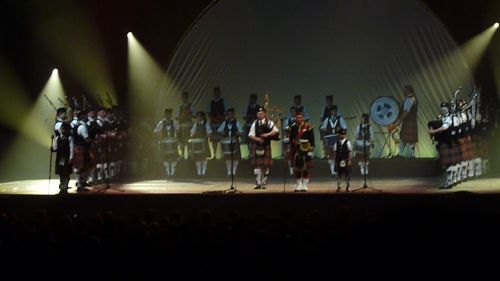 Askol Ha Brug Pipe Band in the ZENITH at Nantes