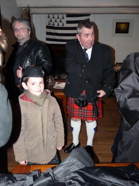 Gabriel et son Papa: Alain