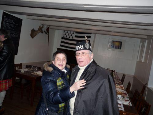 Le Roi et la Reine de la Kilt Society de France