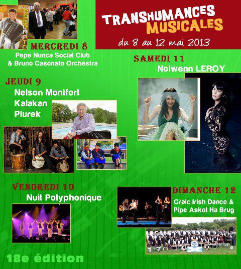 Le programme de la transumance musicale de Lass