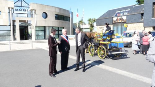 Lionel, my brother-in-law and the mayor of Plouarzel