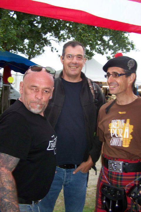 Jean-Luc MONNIER, Didier BODIN & Reun JEZEGOU au festival Rockabilly à Bourgneuf en Retz