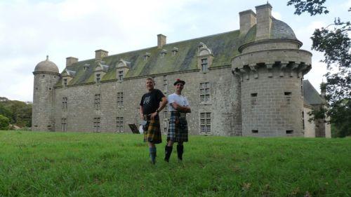 Reun & Glaoda au château de Kergroadez - Brélès
