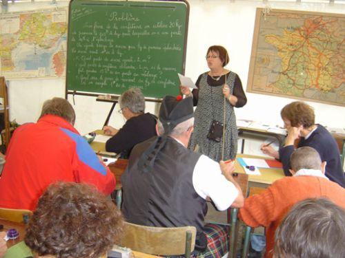La Maitresse et sa classe