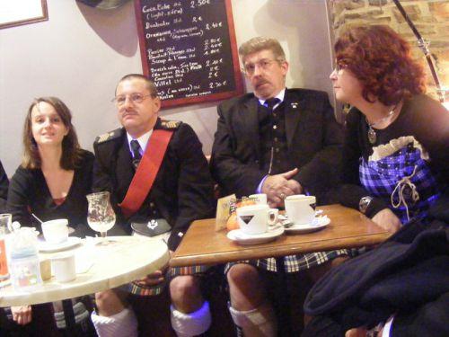 Esther, Yves, Xavier, Christine