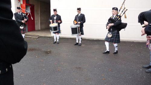 Jean-Paul, Yffig, Reun, Patrick (Pipe major)