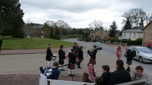 1er défilé du 1er Breizh Tartan Day