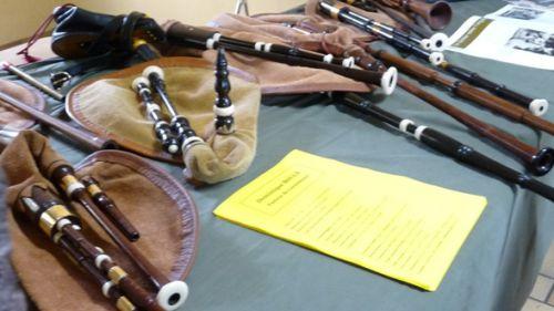 Exposition de vieux instruments