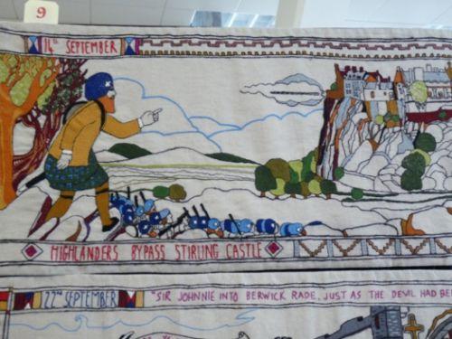 La Tapisserie de la Bataille de Prestonpans 1745