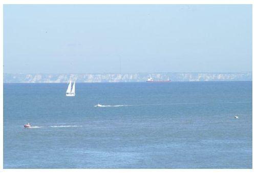 vue ves côtes anglaises (photo de gégé)