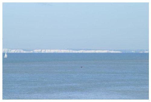 vue des côtes anglaises (photo de gégé)