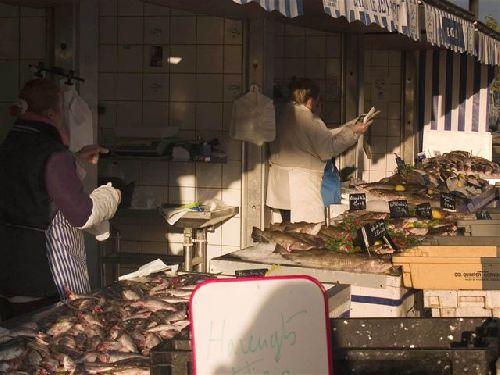 étal à poissons (photo de gégé)