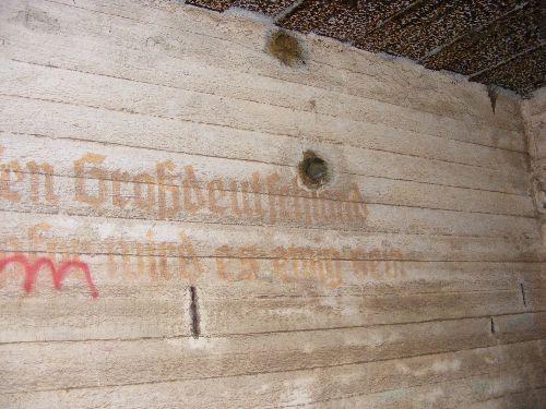 Inscription en allemand