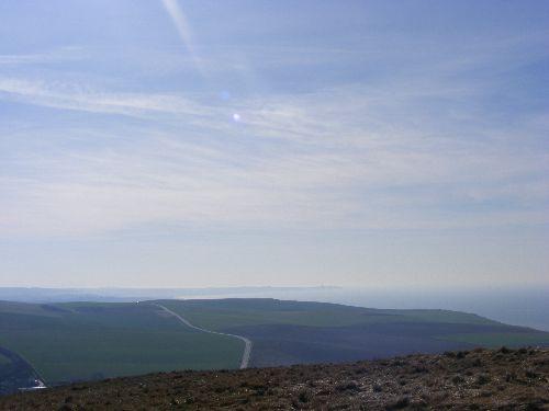 Baie de Wissant avec vue du Griz-Nez