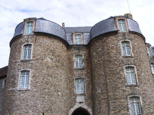 Entrée principale du chateau