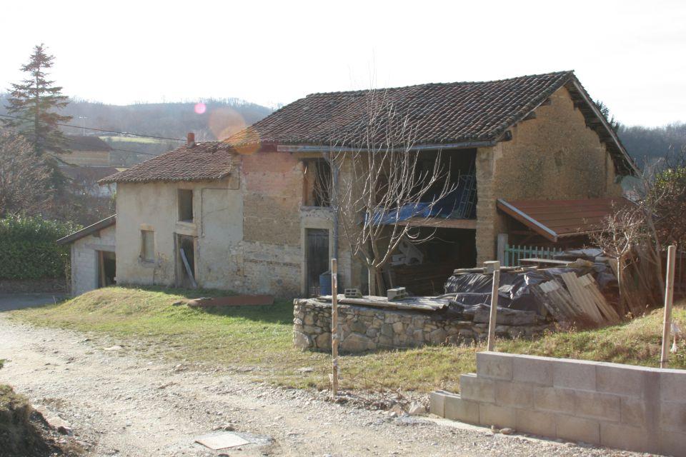 Restauration de notre grange