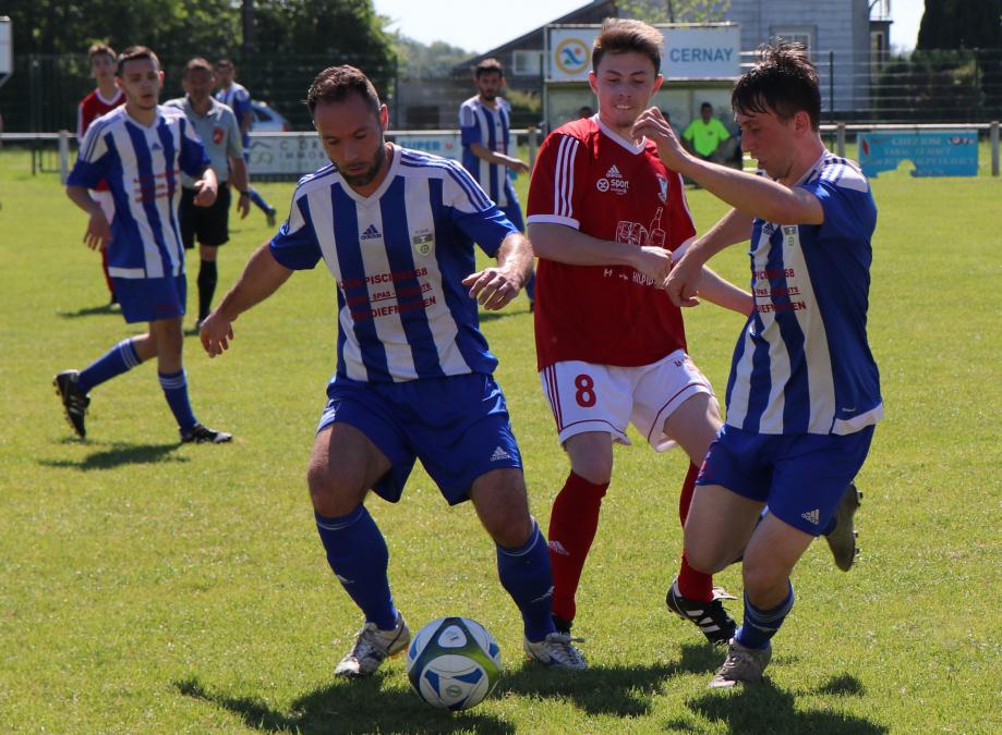 Pour ce dernier match, le FC Lauw est allé surprendre Burnhaupt-le-Haut 2