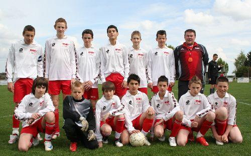 FC Burnhaupt-le-Haut. 13 ans (2008-2009) photo Marc Hoog