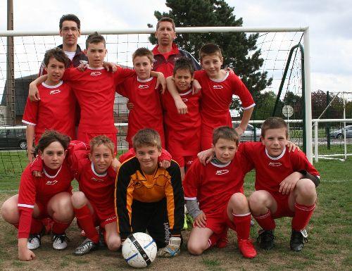 FC Burnhaupt-le-Haut. Benjamins (2008-2009) photo Marc Hoog