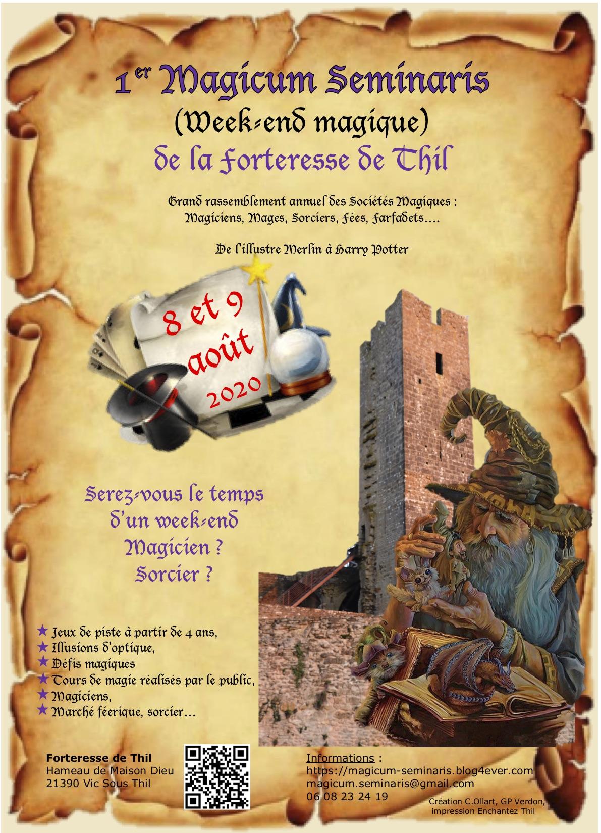 affiche magicum seminaris