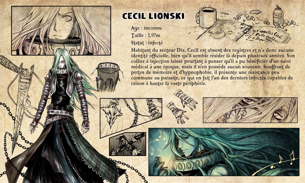 Feuille de personnage Cecil