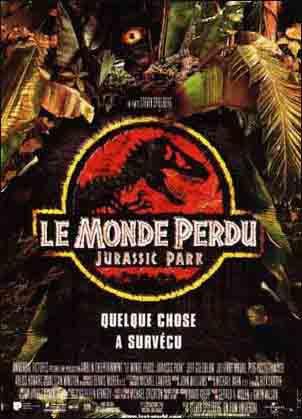 MONDE PERDU (LE) - Jurassic park