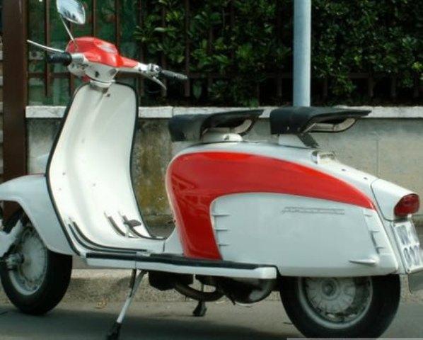 LAMBRETTA 125 1958 ITALIE